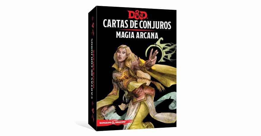 DUNGEONS & DRAGONS: CARTAS DE CONJUROS - MAGIA...