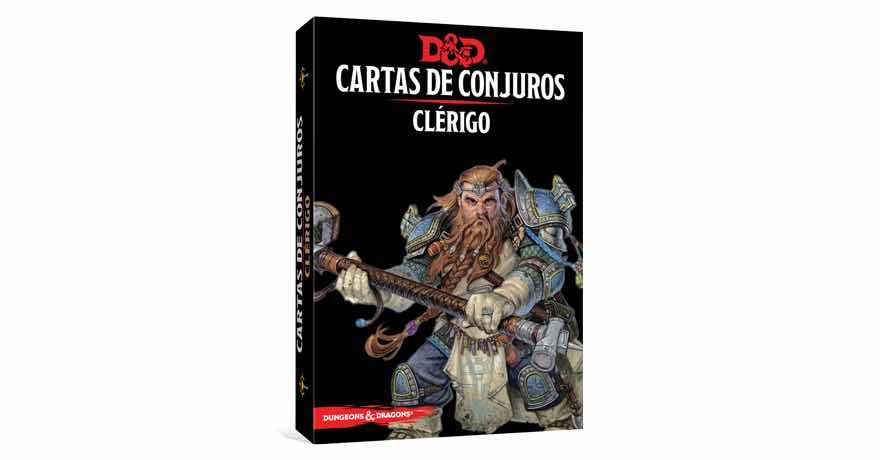 DUNGEONS & DRAGONS: CARTAS DE CONJUROS - CLERIGO