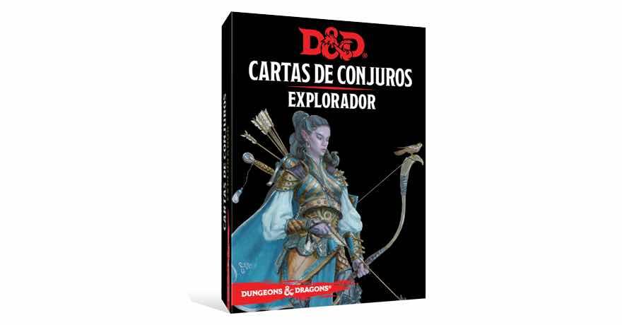 DUNGEONS & DRAGONS: CARTAS DE CONJUROS - EXPLO...