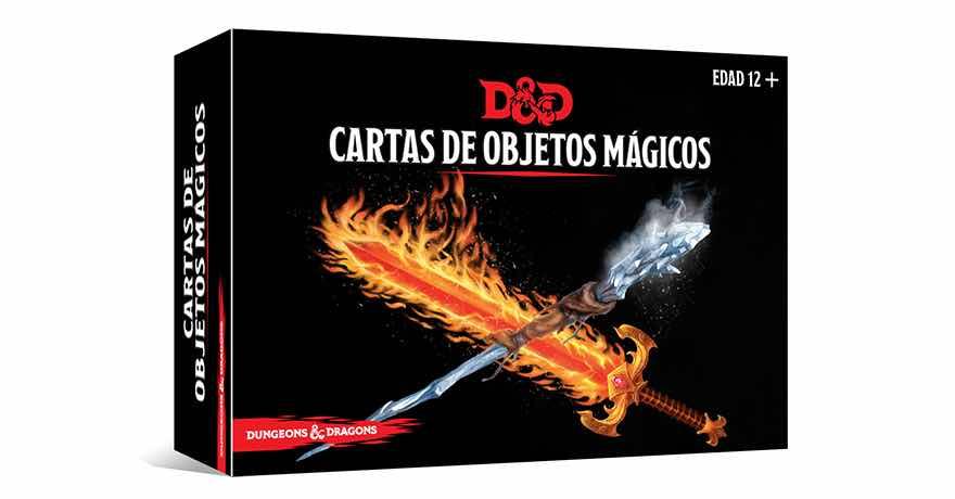 DUNGEONS & DRAGONS: CARTAS DE OBJETOS MAGICOS