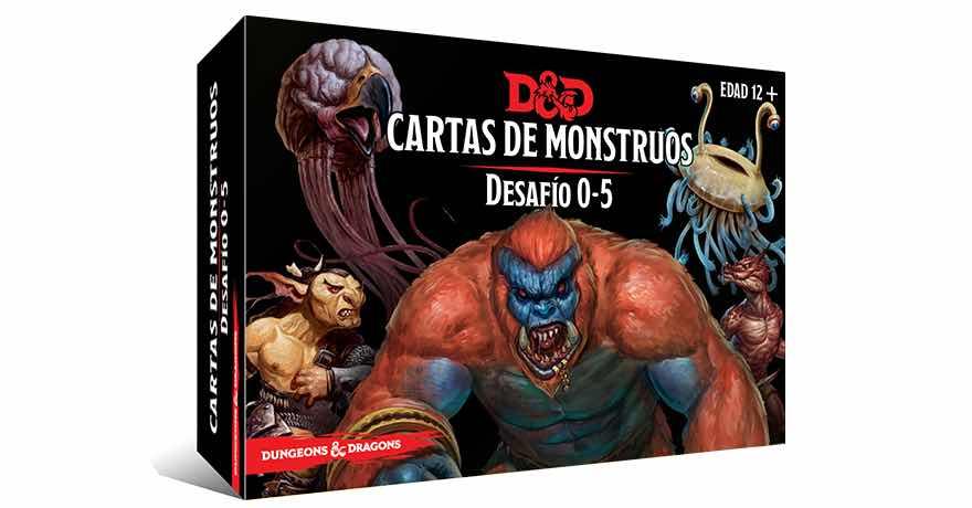 DUNGEONS & DRAGONS: CARTAS DE MONSTRUOS. DESAF...