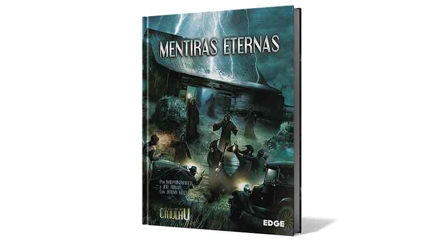 RASTRO DE CTHULHU: MENTIRAS ETERNAS - LIBRO DE CAMPAÑA