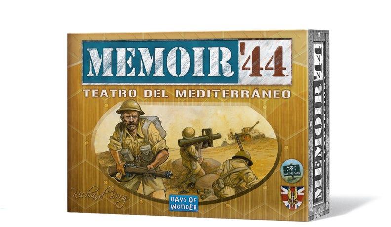 MEMOIR 44. TEATRO MEDITERRANEO