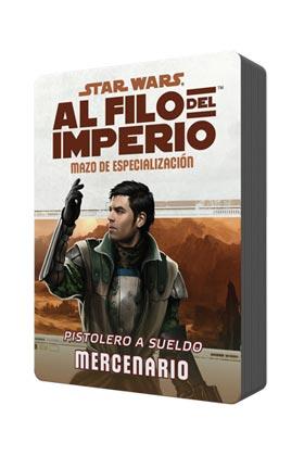 POD MAZO DE ESPECIALIZAZION: PISTOLERO A SUELDO MERCENARIO. STAR WARS AL FILO DEL IMPERIO