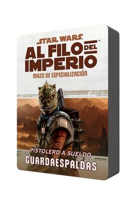 POD MAZO DE ESPECIALIZAZION: PISTOLERO A SUELDO GUARDAESPALDAS. SW AL FILO DEL IMPERIO
