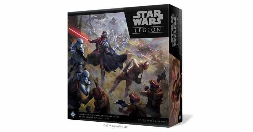 STAR WARS: LEGION CAJA BÁSICA