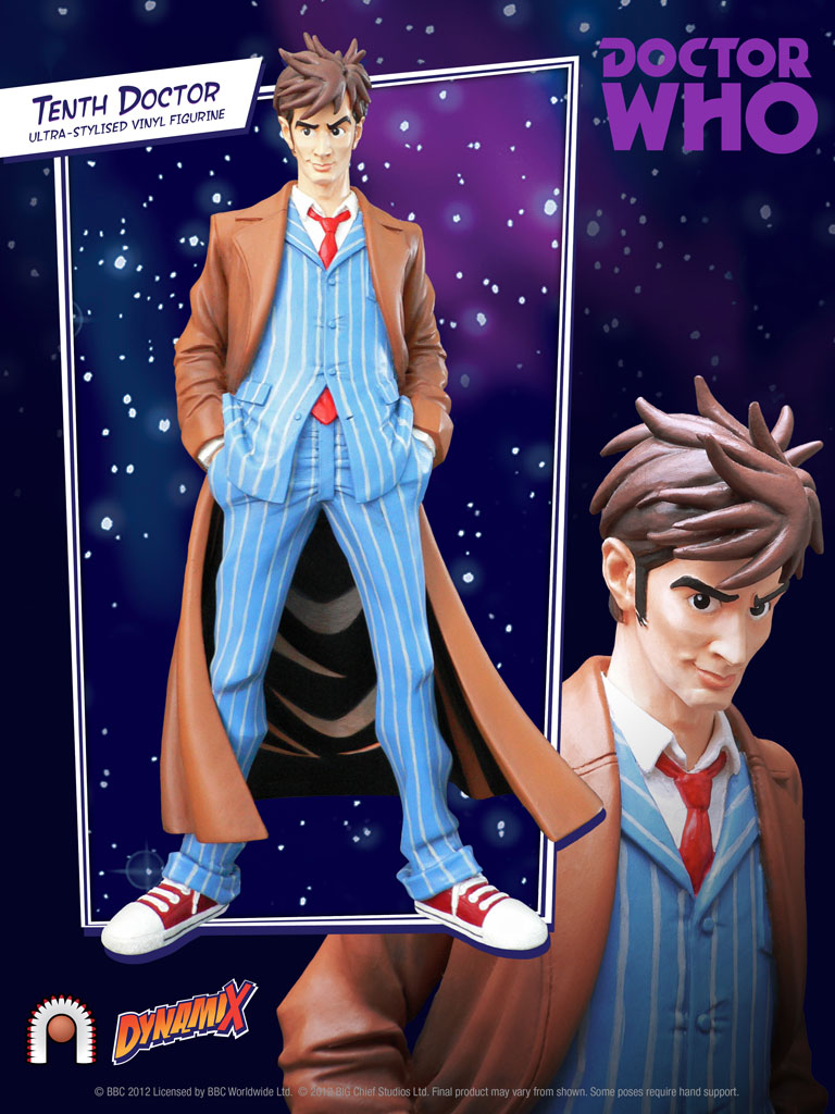 DAVID TENNANT 10º DOCTOR WHO ESTATUA 22 CM DOCTOR WHO