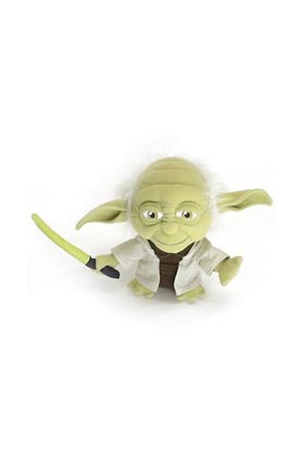 YODA SUPER DEFORMED PELUCHE 18 CM STAR WARS