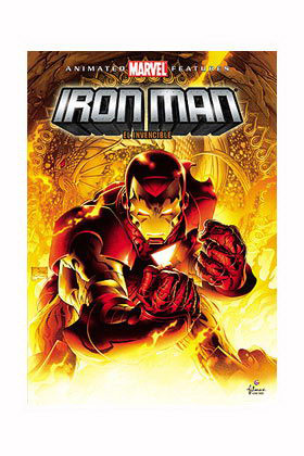 IRON MAN EL INVENCIBLE DVD - ANIMATED FEATURES