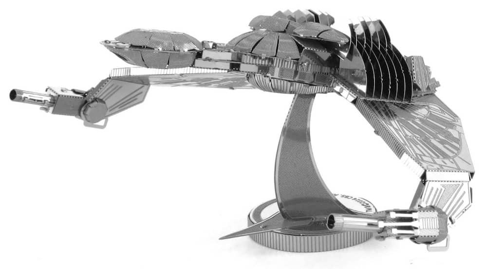 BIRD OF PREY METAL MODEL KIT 3D 10 CM STAR TREK