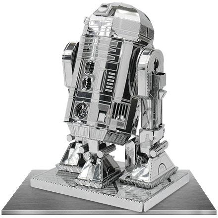 R2-D2 METAL MODEL KIT 3D 10 CM STAR WARS