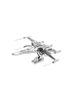 X WING POE DAMERON METAL MODEL KIT 3D 10 CM STAR WARS EP VII