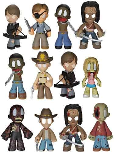 THE WALKING DEAD DISPLAY 24 MYSTERY MINI SERIES 2 - FIGURES 6 CM