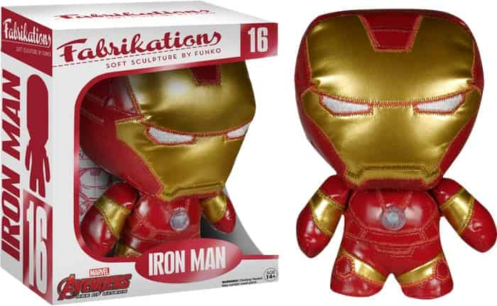 IRON MAN PELUCHE 15 CM FABRIKATIONS AVENGERS AGE OF ULTRON