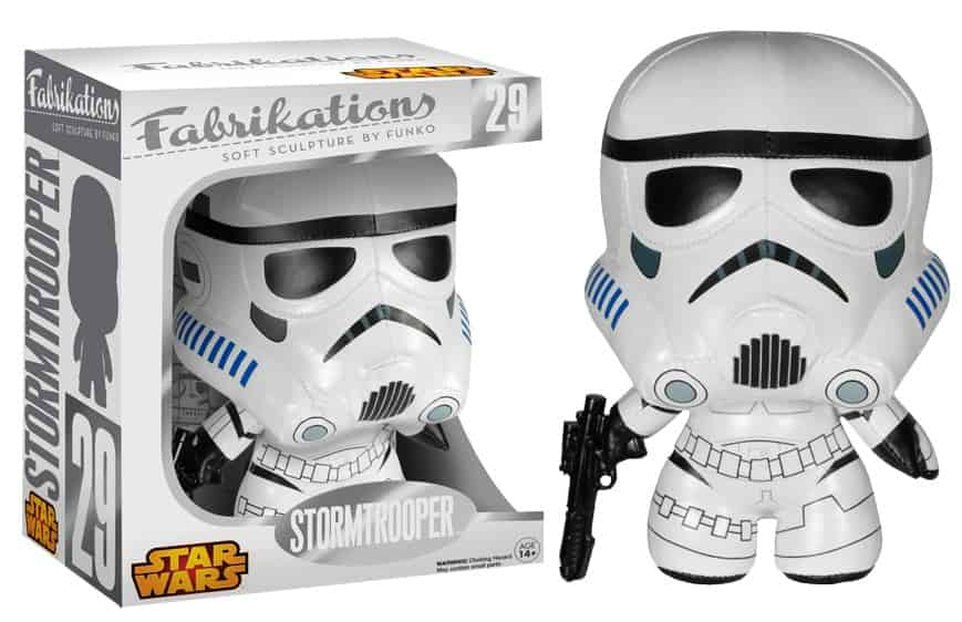 STORMTROOPER PELUCHE 15 CM FABRIKATIONS STAR WARS