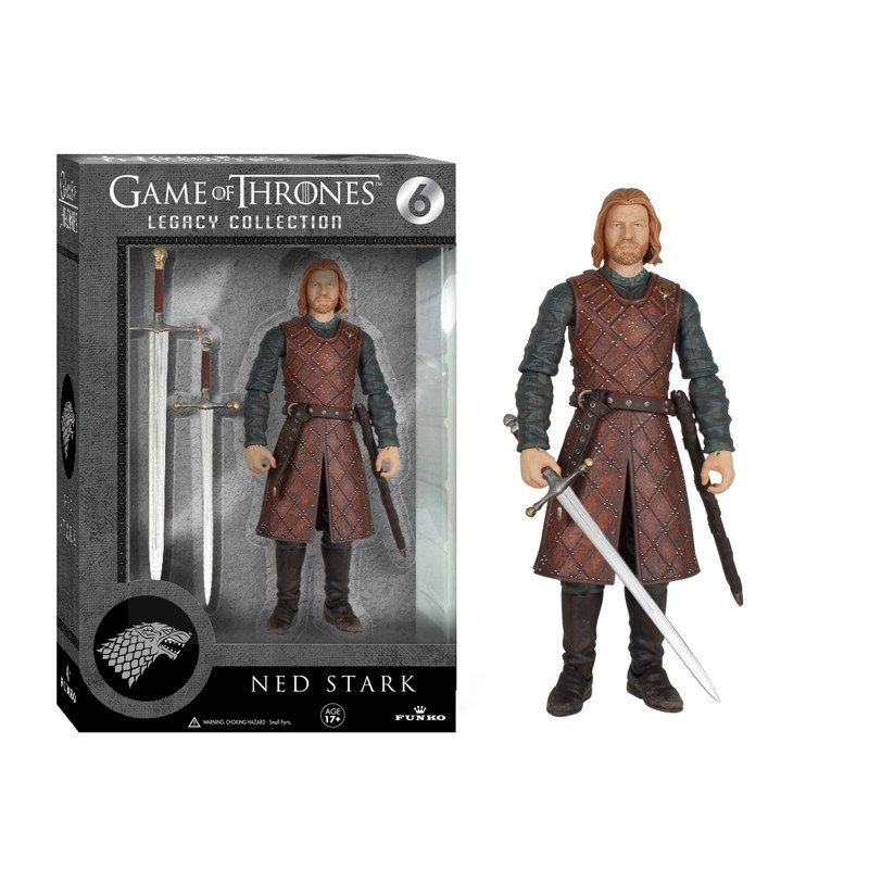 NED STARK FIGURA 15 CM LEGACY ACTION FIGURES GAME OF THRONES