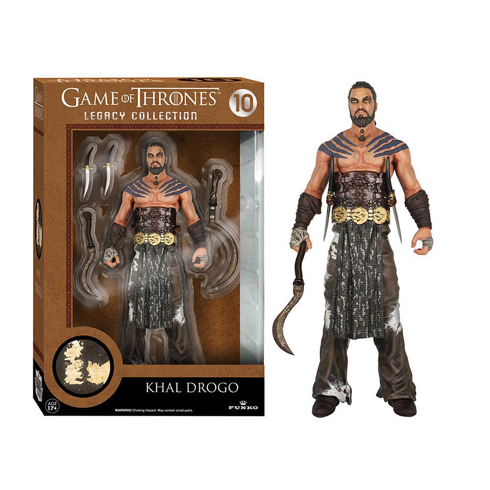 KHAL DROGO FIGURA 15 CM LEGACY ACTION FIGURES SERIES 2  GAME OF THRONES
