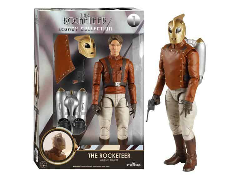 ROCKETEER FIGURA 15,24 CM LEGACY ACTION FIGURES THE ROCKETEER