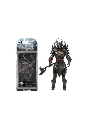 DAEDRIC WARRIOR FIGURA 15 CM LEGACY ACTION FIGURES SKYRIM