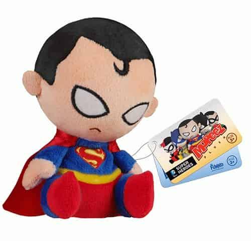 SUPERMAN PELUCHE 11 CM MOPEEZ UNIVERSO DC