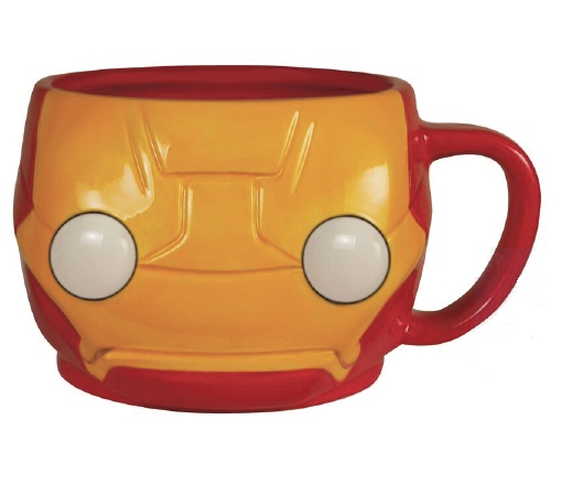 IRON MAN TAZA FIGURATIVA POP HEROES MARVEL