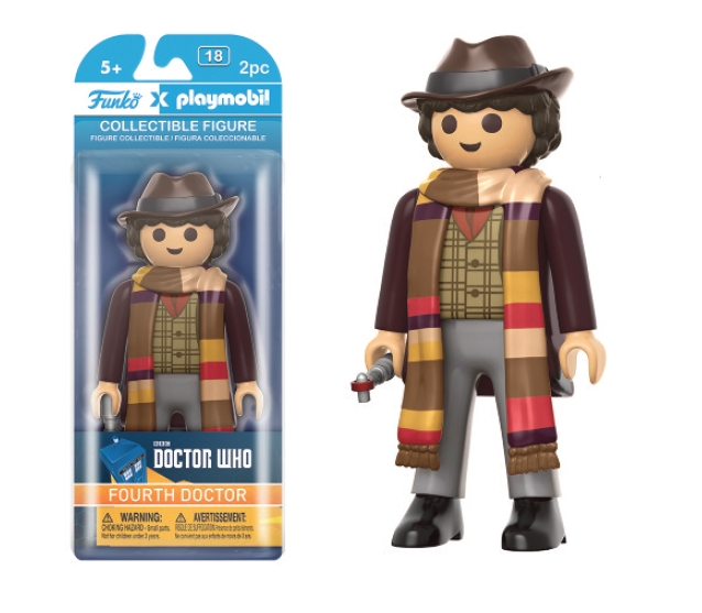 4 TH DOCTOR FIGURA 15 CM PLAYMOBIL DOCTOR WHO