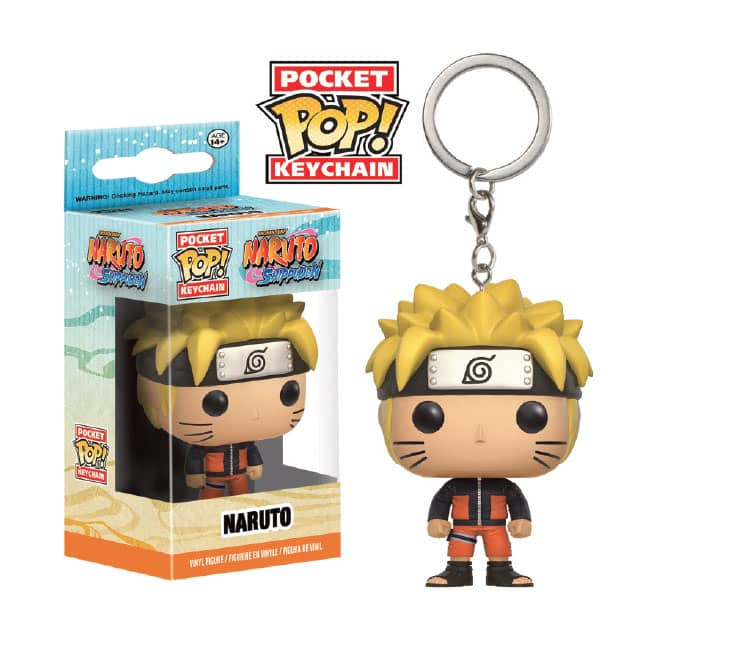 NARUTO LLAVERO FIG 4 CM POCKET POP NARUTO