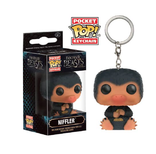 NIFFLER LLAVERO 4 CM POCKET POP ANIMALES FANTASTICOS Y DONDE ENCONTRARLOS