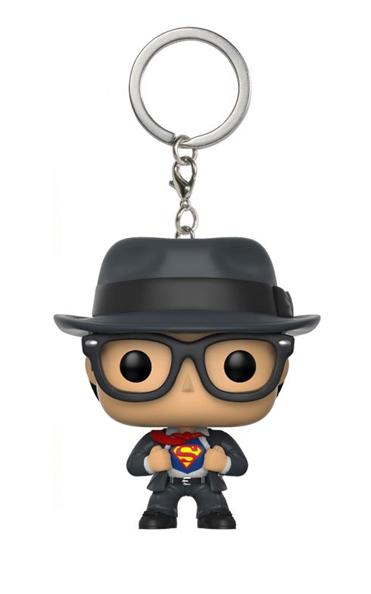 CLARK KENT SUPERMAN LLAVERO FIGURA 4 CM POCKET POP UNIVERSO DC