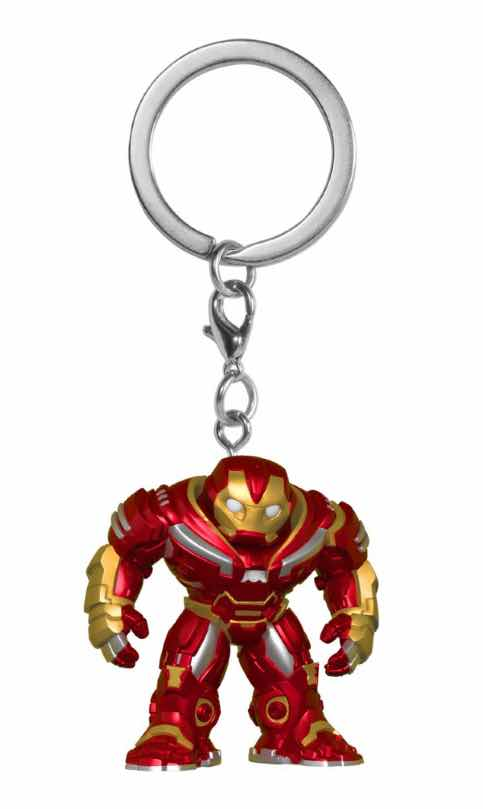HULKBUSTER LLAVERO FIG 4 CM POCKET POP AVENGERS INFINITY WAR