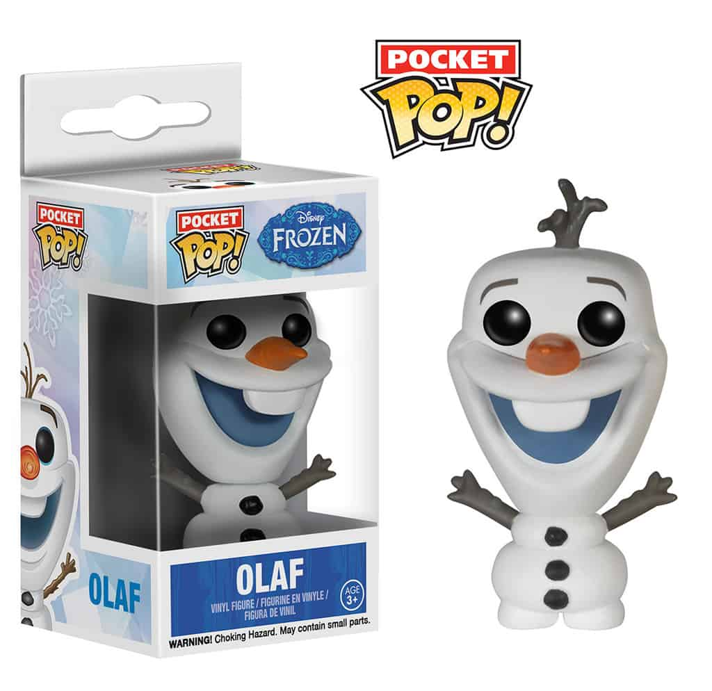 OLAF DISPLAY 12 FIGURAS FIGURA 3.5 CM POCKET POP FROZEN