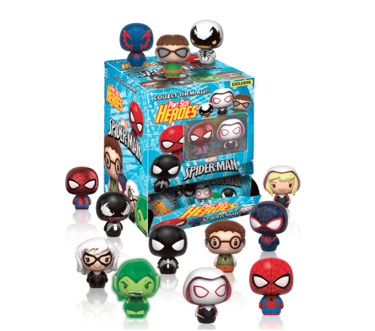 SPIDER-MAN DISPLAY 24 PINT SIZE HEROES MINI FIGURAS VARIANT MIX