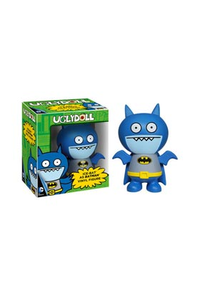 ICE-BAT /BATMAN  VINYL UGLY DOLL DC COMICS FIG 12CM