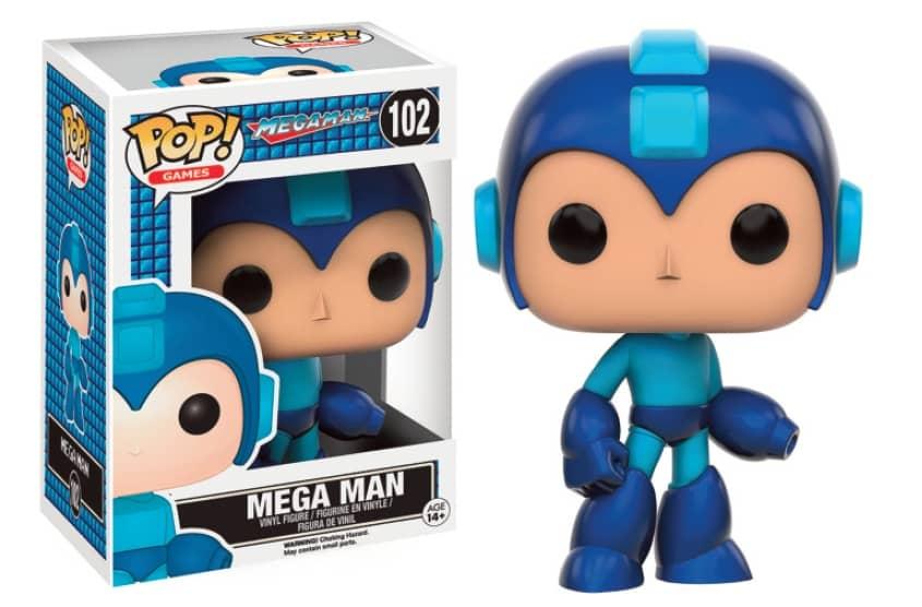 MEGA MAN FIGURA 10 CM VINYL POP MEGAMAN