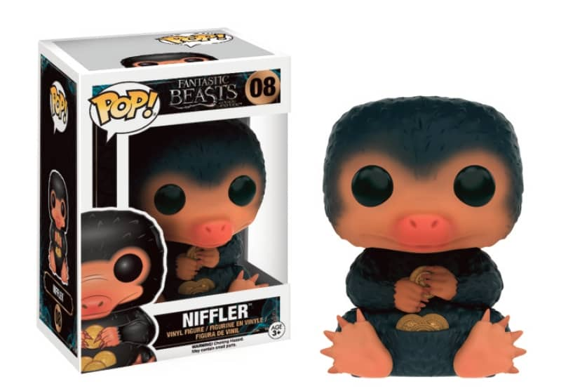 NIFFLER FIG. 10 CM VINYL POP MOVIES ANIMALES FANTASTICOS Y DONDE ENCONTRARLOS
