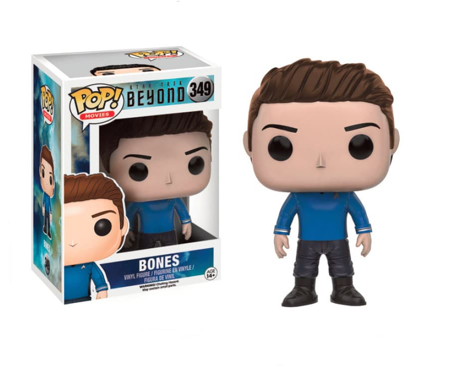 BONES FIGURA 10 CM VINYL POP MOVIES STAR TREK BEYOND
