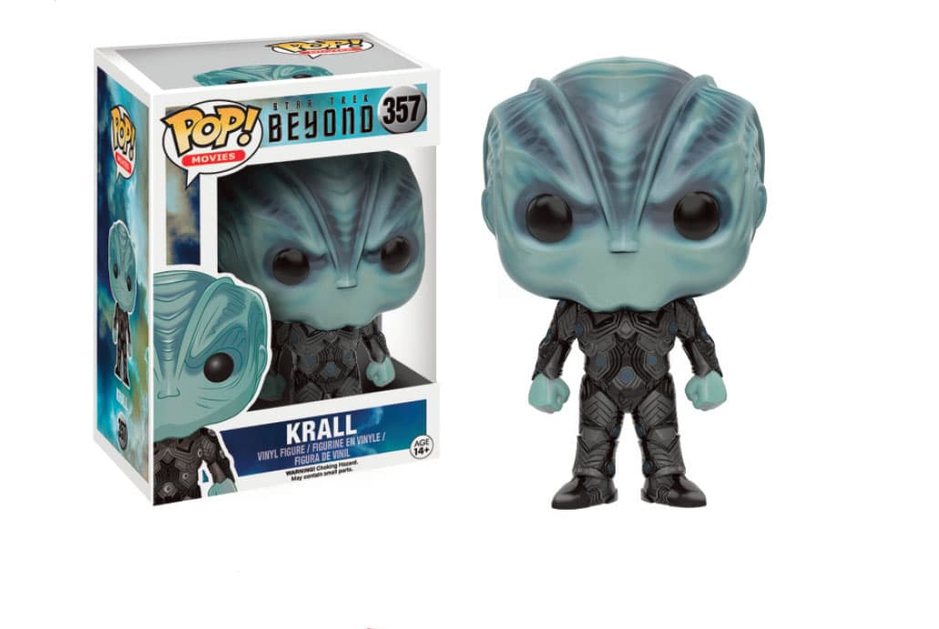 KRALL FIGURA 10 CM VINYL POP MOVIES STAR TREK BEYOND