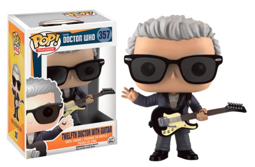 12 TH DOCTOR CON GUITARRA FIGURA 10 CM VINYL POP TELEVISION DOCTOR WHO