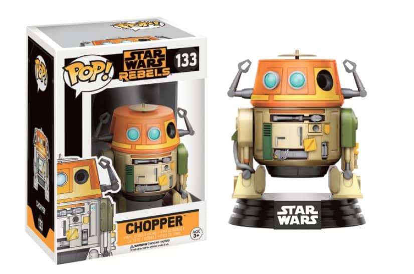 CHOPPER FIG.7 CM VINYL POP STAR WARS REBELS