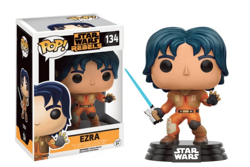 EZRA FIG.10 CM VINYL POP STAR WARS REBELS