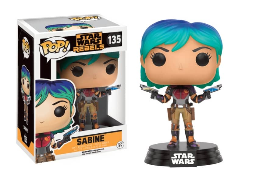 SABINE FIG.10 CM VINYL POP STAR WARS REBELS