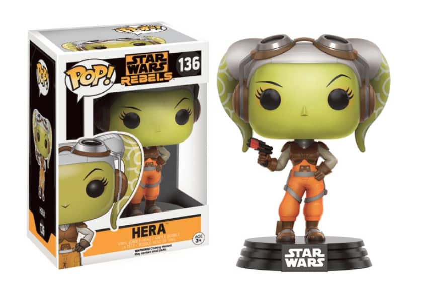 HERA FIG.10 CM VINYL POP STAR WARS REBELS