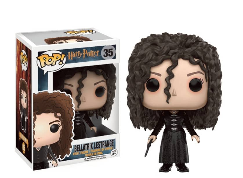 BELLATRIX FIGURA 10 CM VINYL POP MOVIES HARRY POTTER