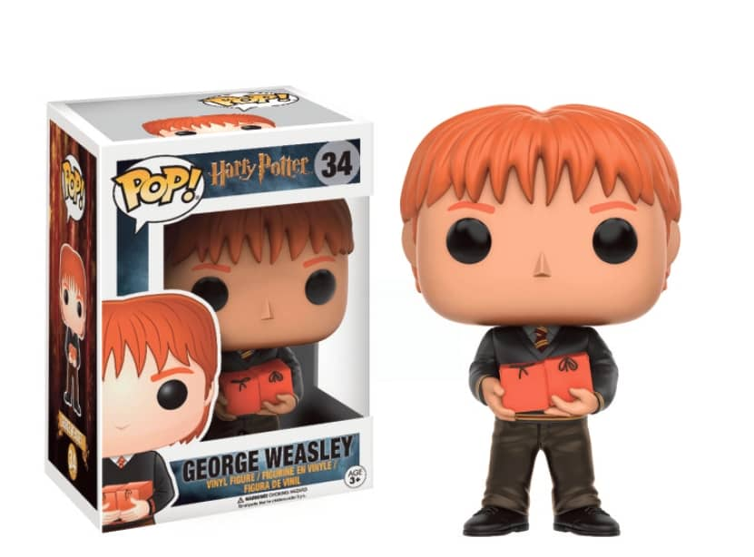 GEORGE WEASLEY FIGURA 10 CM VINYL POP MOVIES HARRY POTTER