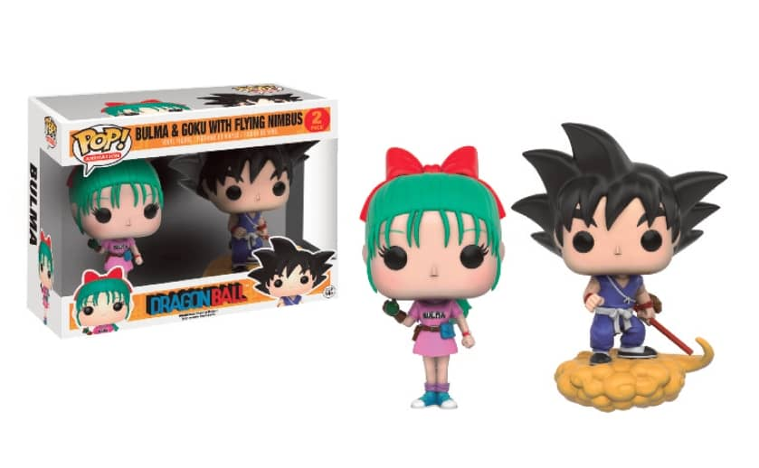 SON GOKU Y BULMA 2 PACK FIG 10 CM VINYL POP ANIMATION DRAGONBALL Z