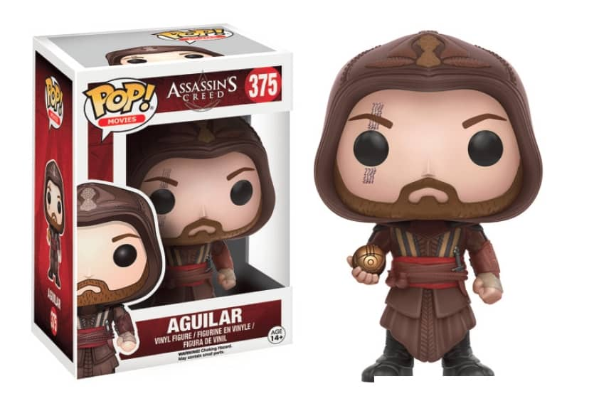 AGUILAR FIGURA 10 CM VINYL POP MOVIES ASSASSIN'S CREED