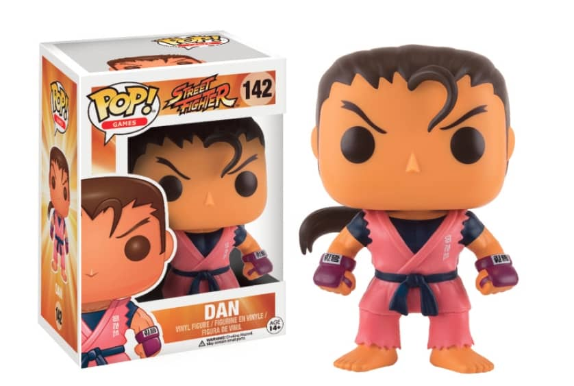 DAN FIGURA 10 CM VINYL POP GAMES STREET FIGHTER