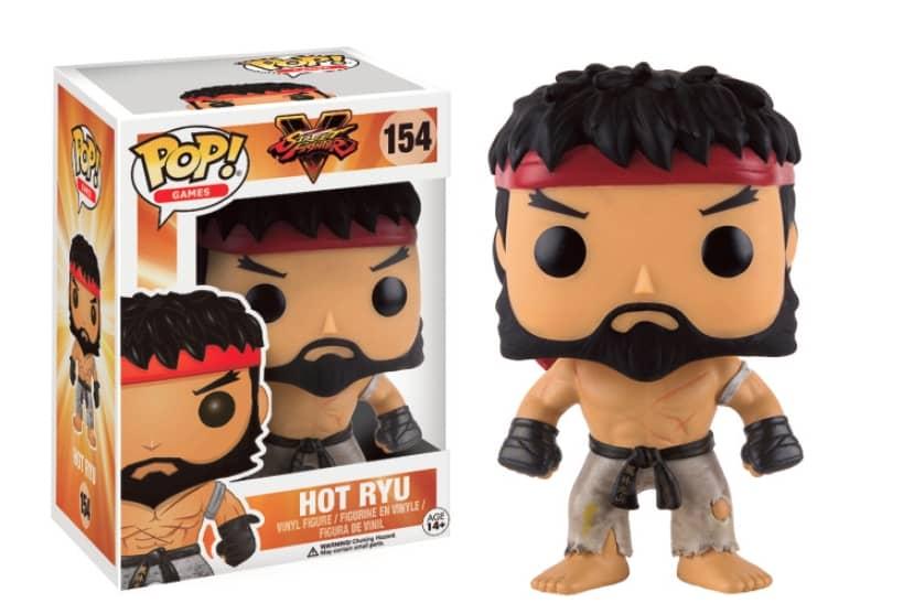HOT RYU FIGURA 10 CM VINYL POP GAMES STREET FIGHTER