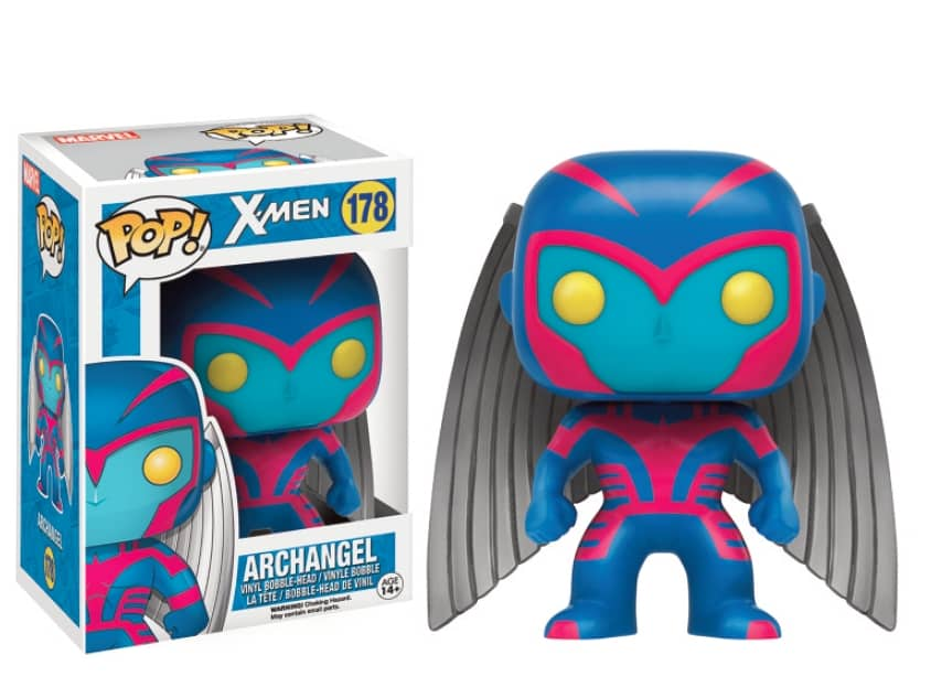 ARCANGEL FIGURA 10 CM VINYL POP MARVEL X-MEN