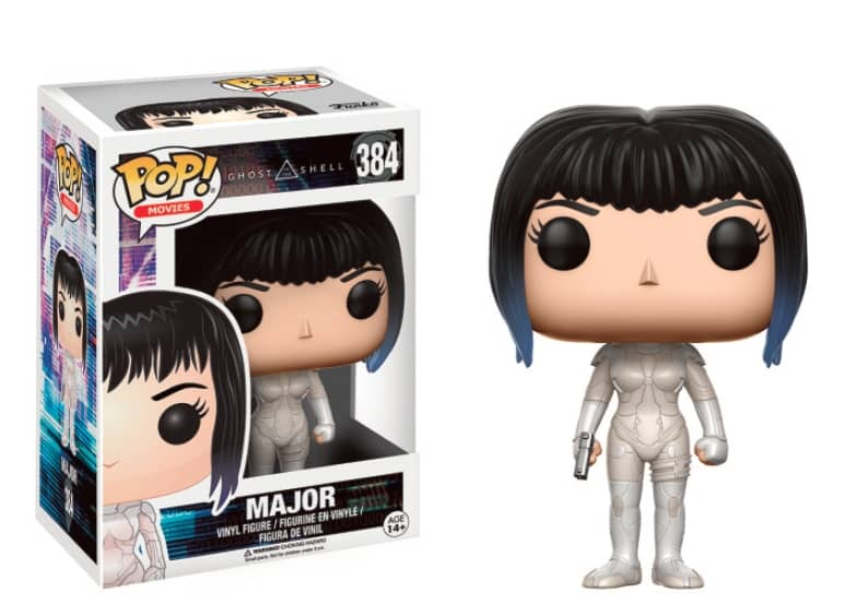 MAJOR FIGURA 10 CM VINYL POP MOVIES GHOST IN THE SHELL